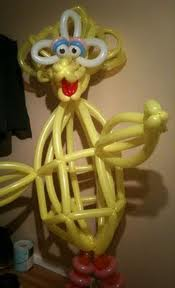 Balloon Art - Muppets - Big Bird