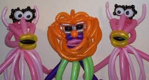 Balloon Art - Muppet Type Characters