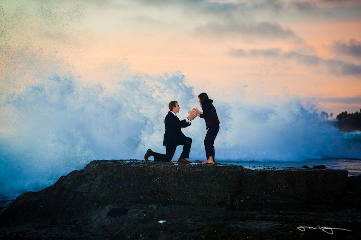 Matt Harman Wedding Proposal Wave