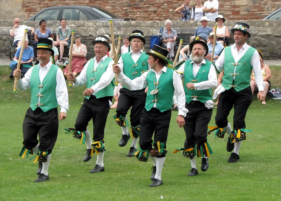 Morris Dancing At Wells