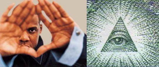 Pop - Illuminati Iconography - Mason Pyramid Eye