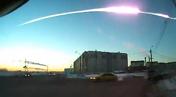 Russian Meteor Dashcam