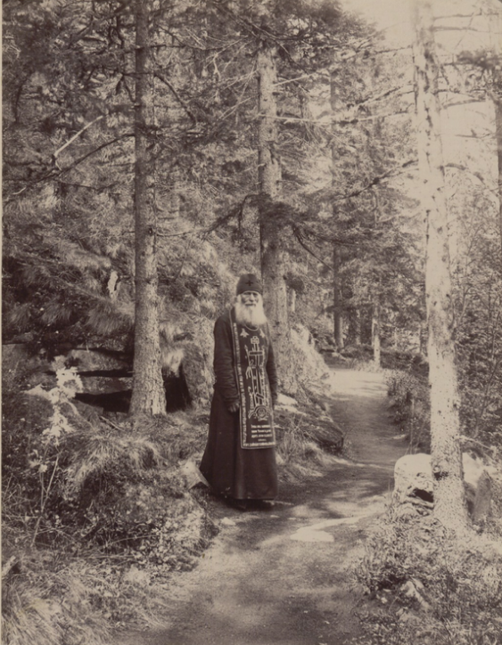 Valaam - St. Petersburg Monastery - Beard In The Woods